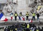 Gilet gialli atto XII: scontri a Parigi e Bordeaux