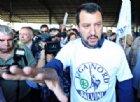 Attivisti della Lega contestati al banchetto per sostegno a Salvini a Molassana