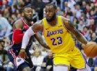 Lakers sconfitti e, al momento, fuori dai playoff