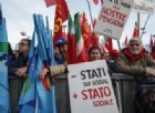 Lavoro, Sindacati in piazza a Roma: «Così non va, il Governo ci ascolti o non ci fermeremo»
