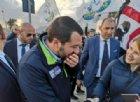 Matteo Salvini contestato al comizio: «Mi ha detto str**zo? Oh ma è maleducazione»