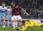 Un Milan irriconoscibile esce indenne dall'Olimpico: si salvano in 3