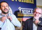 Salvini riunisce la Lega, Maroni: «Nasce il partito dei sovranisti»