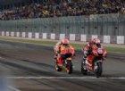 Gp Qatar, Dovizioso fulmina Marquez. Rossi quinto