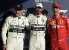 Hamilton, buona la prima. Vettel in seconda fila (staccato)