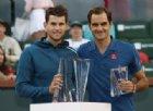Indian Wells: «cade» Federer, vince Dominic Thiem