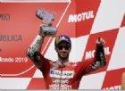 Ottimo podio per Andrea Dovizioso, terzo nel GP d'Argentina. Sesto posto in rimonta per Danilo Petrucci