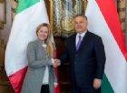 Europee, Meloni: «Più facile il dialogo con il PPE se Orban resta dentro»