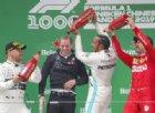 Il 1000° GP è di Hamilton. Ferrari, Vettel è solo 3°, Leclerc 5°
