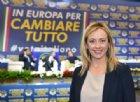 Lo sfogo di Giorgia Meloni dal palco: «Capitale Unione Europea deve essere Roma!»