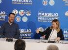 Meloni: «Dopo il voto Governo con noi e Lega»