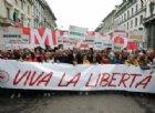 Milano non snobba il 25 aprile, in 70mila in piazza Duomo