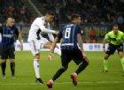 Inter Juve 1-1: gol e highlights della partita. Cristiano Ronaldo risponde a Nainggolan