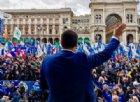 Matteo Salvini bacia il rosario: «L'immacolato cuore di Maria ci porterà alla vittoria»