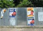 «Terroni votatemi», «Onesti quando ci pare», a Bologna finti manifesti su Salvini e Di Maio