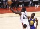 Gara 1, i Toronto Raptors stendono Golden State