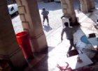 Rapina in via Mercerie: ecco il video della fuga