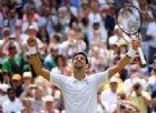 Wimbledon: Djokovic fa doppietta, primo acuto per Halep