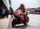 A Brno strepitosa pole di Marquez sotto la pioggia