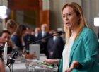 Meloni: «FdI per voto subito, chi fino a ieri si insultava non potrà governare insieme a lungo»