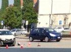 Scontro fra un FlixBus e un'auto in piazzale XXVI Luglio