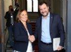 Salvini: «Ho incontrato il Ministro Lamorgese, sono a disposizione se serve»