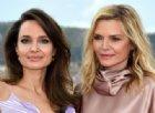 Angelina Jolie e Michelle Pfeiffer, a Roma le regine rivali di «Maleficent»