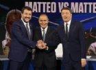 Matteo Salvini a Renzi: «Italiani non sono rimbambiti, io al 33% tu al 4%»