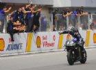 A Sepang trionfa Vinales davanti a Marquez: «Vittoria dedicata a Munandar»