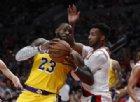 LeBron James nella storia con mille partite oltre i 20 punti