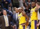 Lakers a valanga, settima vittoria consecutiva