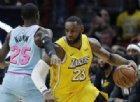 LeBron James dà spettacolo. E i Lakers volano