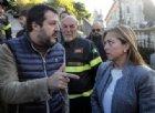 Matteo Salvini a Giorgia Meloni: «Il centrodestra deve uscire dai recinti dei partiti»