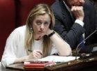 Giorgia Meloni: «Il problema non è solo il Governo ma questo Parlamento»
