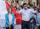 Salvini apre uno spiraglio: «Via Conte e ragioniamo». Ma Meloni insiste: «Elezioni subito»