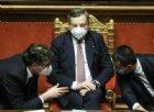 Per Mario Draghi fiducia «larga» al Senato ma Monti fece meglio. M5S perde pezzi