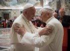 Papa Francesco con il Papa Emerito, Benedetto XVI