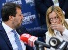 Centrodestra distinto e distante mentre Salvini e Meloni si contendono la leadership