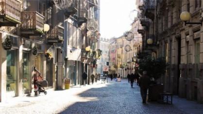 Via Italia a Biella