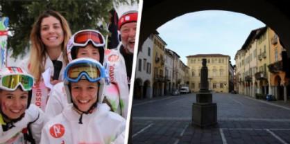 Catch the Colors a Bielmonte e Touring Club a Biella Piazzo