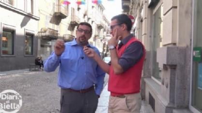 L'assessore al commercio Stefano La Malfa