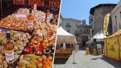 Il mercato delle regioni apre oggi in Via Italia a Biella