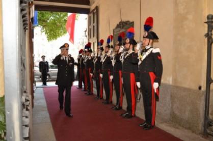 La visita del Comandante Tullio Del Sette