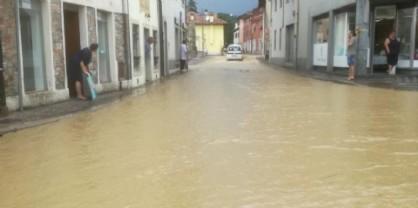 Vento e pioggia: il Friuli nella morsa del maltempo, qui cosa è accaduto questa mattina a Manzano