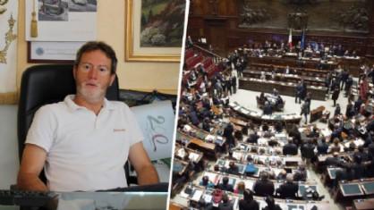 Emanuele Ramella Pralungo ed il Parlamento