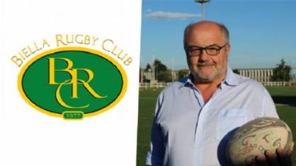 Il presidente del Biella Rugby, Vittorio Musso