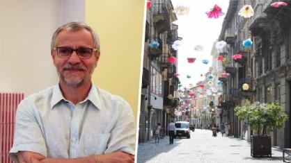 Angelo Sacco e via Italia