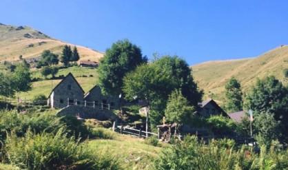 All'Alpe Artignaga tutto pronto per la tradizionale polenta concia