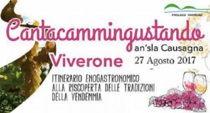 A Viverone «Cantacammingustando»