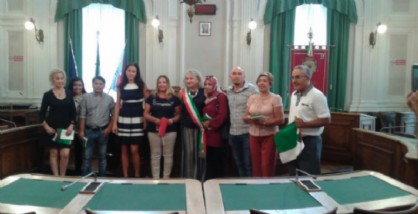 I nuovi cittadini italani e l'assessore Zago